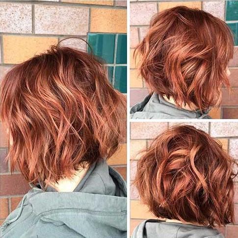 Kızıl Kısa Saç Modelleri 2018 2019 Trendler Ve Moda