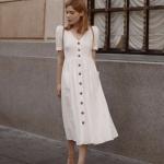 önden düğmeli yazlık elbiseler 2019