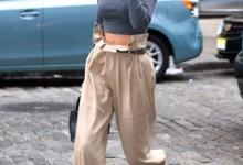 Paper Bag Kot Pantolon Nasıl Giyilir