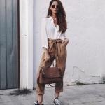 Paper Bag Kot Pantolon Stil Önerileri
