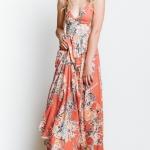desenli uzun elbise modelleri 2018