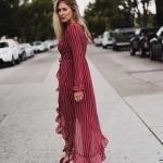 kırmızı uzun elbise modelleri 2018