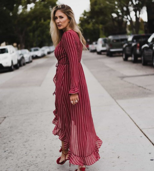 a52850389b353 kırmızı uzun elbise modelleri 2018 - Trendler ve Moda