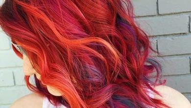 kısa kızıl dalgalı saç modelleri 2019