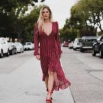 uzun kırmızı elbise modelleri 2019