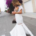 yazlık beyaz elbise modelleri 2019