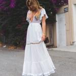 yazlık beyaz elbiseler 2018 2019