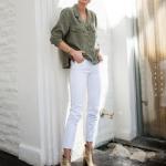 2018 yaz beyaz pantolon kombinleri