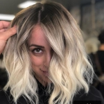 balyajlı bob saç modeli 2019