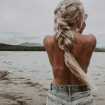 bayan uzun saç