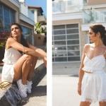 bayan yazlık beyaz spor ayakkabı kombinleri 2019