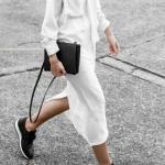 beyaz gömlek elbise giymenin yolları