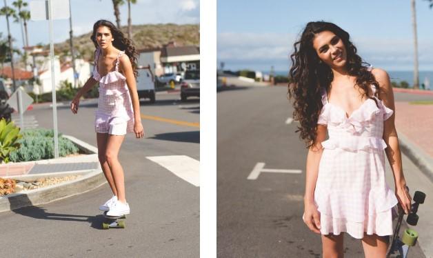 Beyaz Spor Ayakkabılar Ile Elbise Kombinleri Trendler Ve Moda