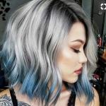 gri saç modelleri 2019