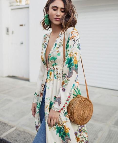 2019-2019 İlkbahar Yaz Trendleri: Kimono Kombinleri 81