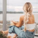 uzun saç modeli 2018 2019