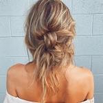 yazın trend uzun saç modelleri