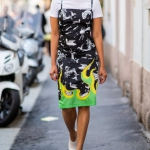 yaz sokak modası 2018 elbiseler