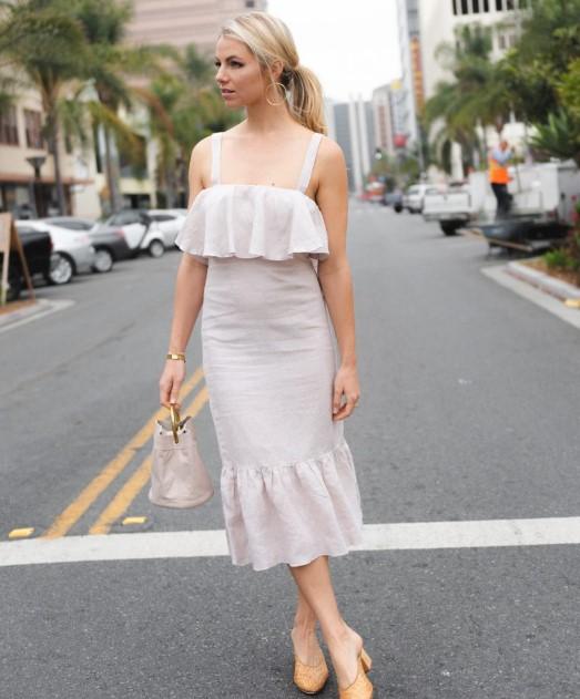yazlık keten elbise modelleri 2018 2019