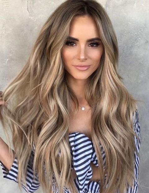 Sarı Gölgeli Saç Renkleri Ve Modelleri 2019 Trendler Ve Moda