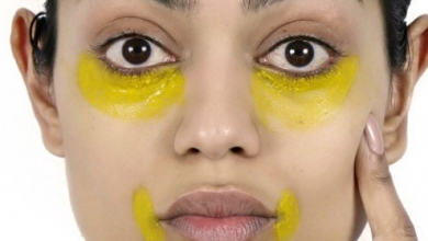 Photo of Göz altı morluklarını açmak için zerdeçal maskesi