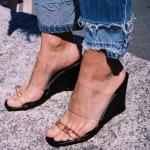 kadın ayakkabı trendleri 2018 yaz
