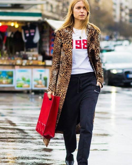 a98a7f2627ee3 Bir moda duayeni gibi leopar desen giymenin yolları - Trendler ve Moda