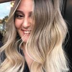 sarı gölgeli orta boy saç modelleri 2019