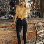 siyah kot pantolon modelleri 2019