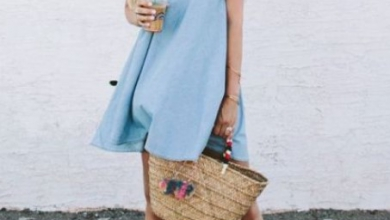 yazlık kot elbiseler nasıl giyilir 2019