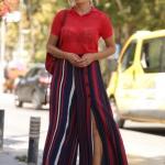 yazlık geniş paça pantolon modelleri 2019