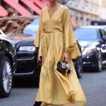 2018 2019 sonbahar midi elbise modelleri