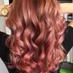 allık pembe saç rengi