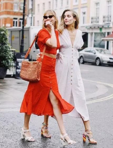 midi elbise modelleri 2019