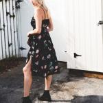 sonbahar elbise kombini