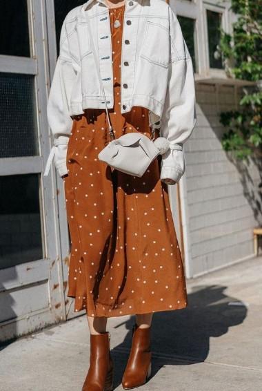 sonbahar modası 2018 2019 elbiseler