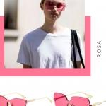 2019 Dior renkli güneş gözlükleri