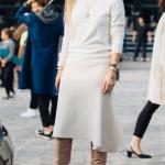 açık renk kıyafetleri 2018 2019 sonbahar kış modası