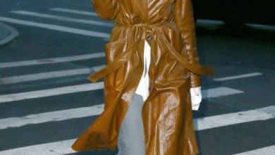bayan kahverengi deri trençkot modelleri 2019