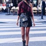 kış modası 2019 deri etekler
