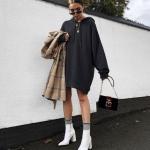 kışlık triko elbiseler 2019