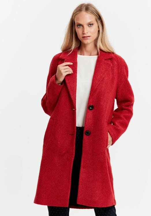 lcwaikiki kırmızı kaşe kaban modelleri 2018 19