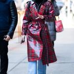 sonbahar kış modası 2018 2019 deri ceketler
