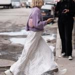 sonbahar kış modası beyaz etekler 2018 2019