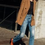 kahverengi blazer ceket modelleri 2019