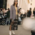 kış 2019 desenli blazer ceket modelleri