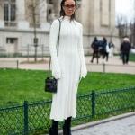 kışlık elbise kombini 2019