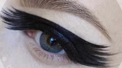 yeni siyah eyeliner sürme teknikleri 2019