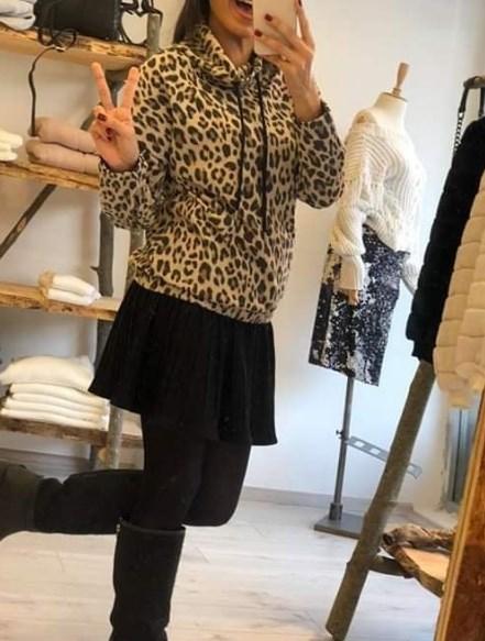 2019 kış modası leopar desenler