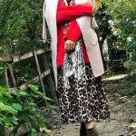 2019 kış modası leopar etek modelleri